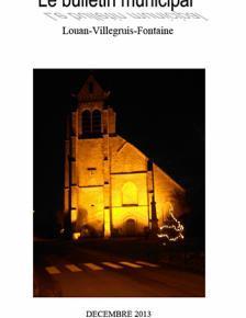 Couverture Journal municipal n° 29 de décembre 2013